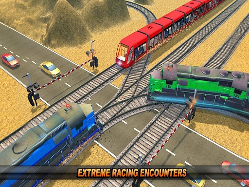 Mountain Uphill Passenger Train Simulator
