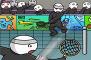 Stick Figure Badminton 2